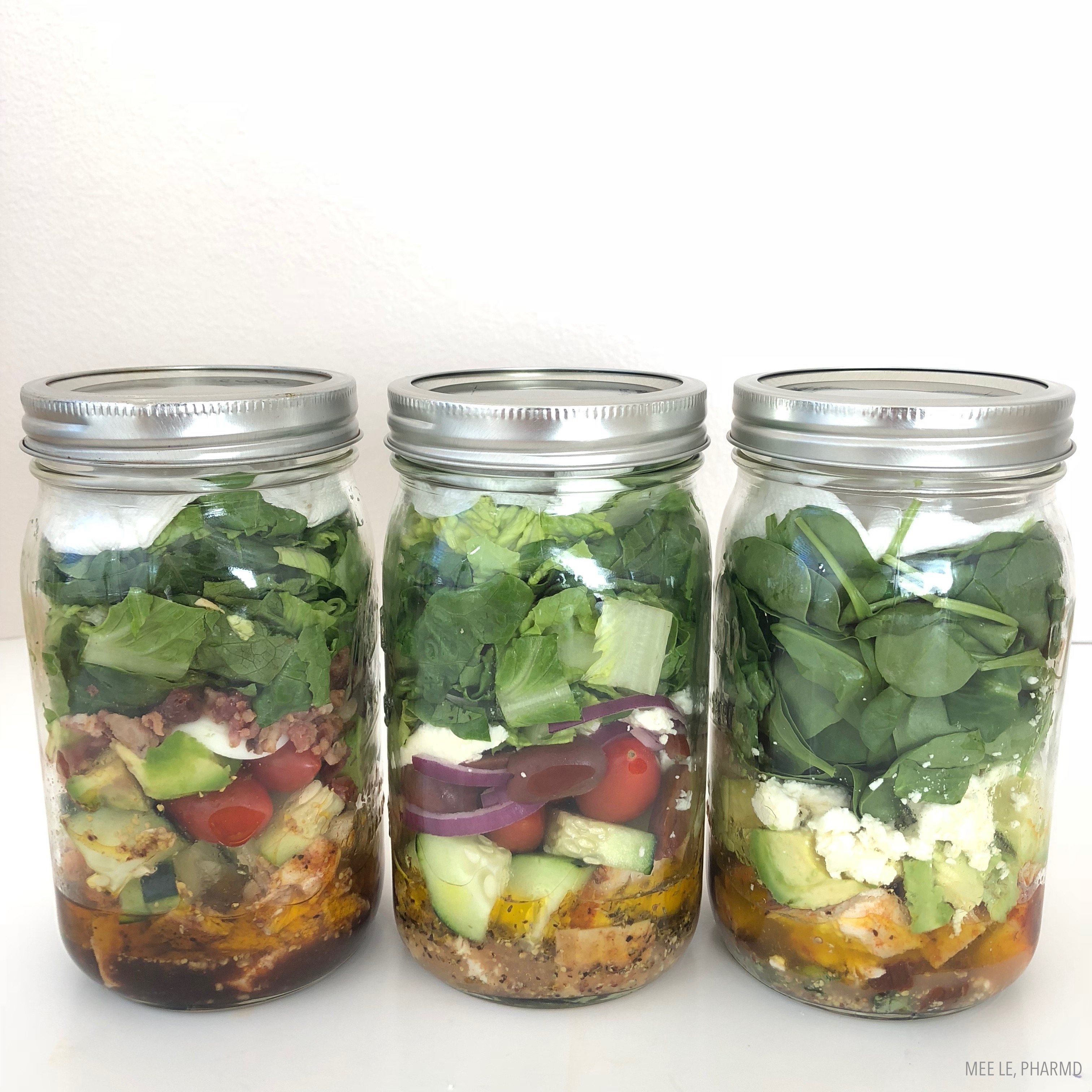 How To Pack A Salad In A Jar For The Perfect Healthy Lunch 3